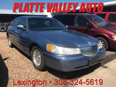 1999 Lincoln Town Car for sale in Lexington, NE