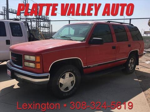 1999 GMC Yukon for sale in Lexington, NE