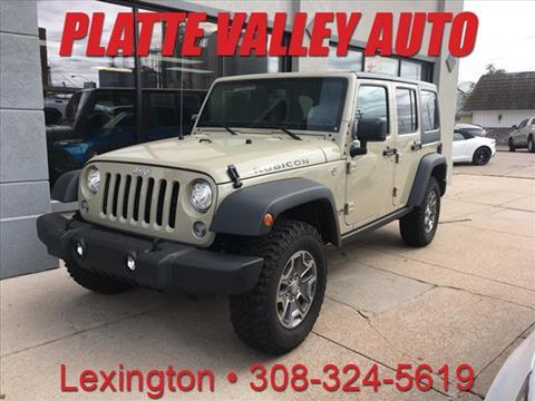 2017 Jeep Wrangler Unlimited for sale in Lexington, NE