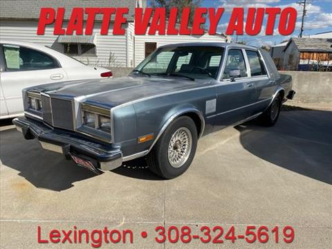 1985 Chrysler Fifth Avenue for sale in Lexington, NE