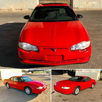 2000 Chevrolet Monte Carlo for sale at Marigold Motors, LLC in Pekin IL