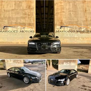 2012 Audi A7 for sale at Marigold Motors, LLC in Pekin IL