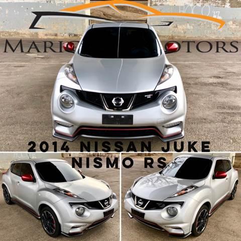 2014 Nissan JUKE For Sale At Marigold Motors In Pekin IL