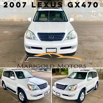 2007 Lexus GX 470 for sale at Marigold Motors, LLC in Pekin IL