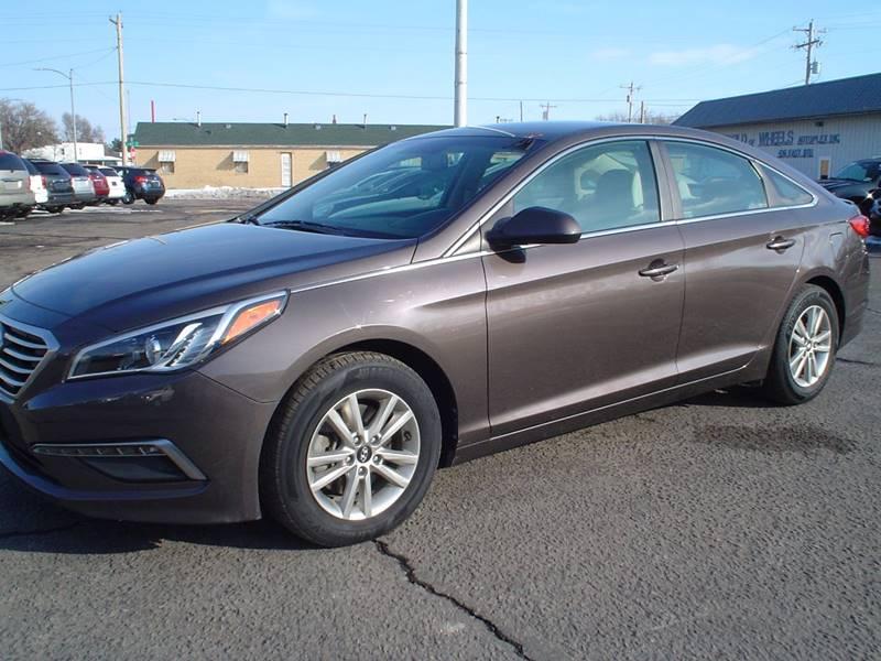 2015 Hyundai Sonata for sale at World of Wheels Autoplex in Hays KS