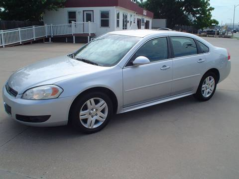 2011 Chevrolet Impala for sale at World of Wheels Autoplex in Hays KS