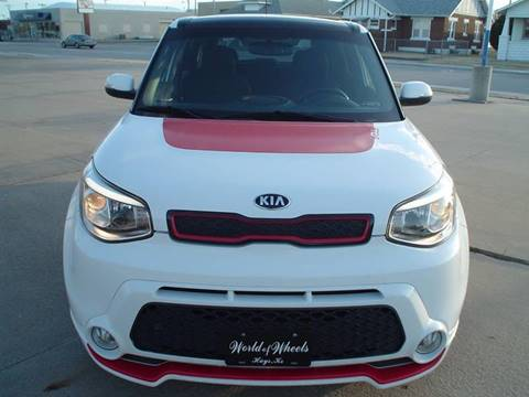 2014 Kia Soul for sale at World of Wheels Autoplex in Hays KS