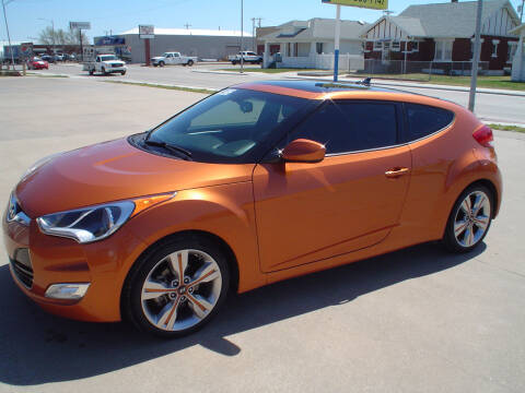 2016 Hyundai Veloster for sale at World of Wheels Autoplex in Hays KS