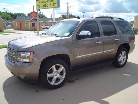 2011 Chevrolet Tahoe for sale at World of Wheels Autoplex in Hays KS