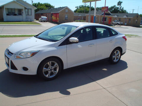 2014 Ford Focus for sale at World of Wheels Autoplex in Hays KS