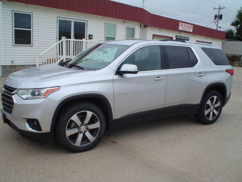 2018 Chevrolet Traverse for sale at World of Wheels Autoplex in Hays KS