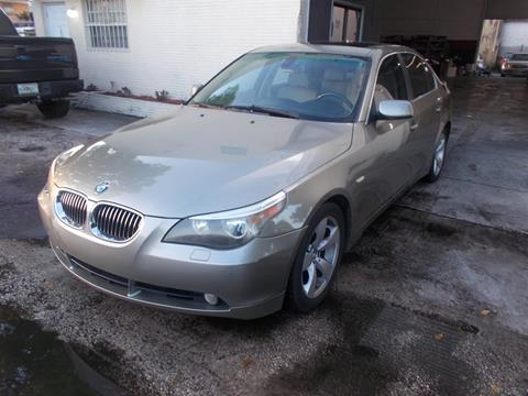 2007 BMW 5 Series for sale in Hollywood, FL
