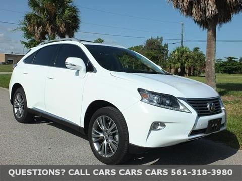 2013 Lexus RX 350 for sale in Riviera Beach, FL