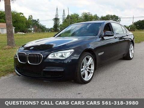 2013 BMW 7 Series for sale in Riviera Beach FL
