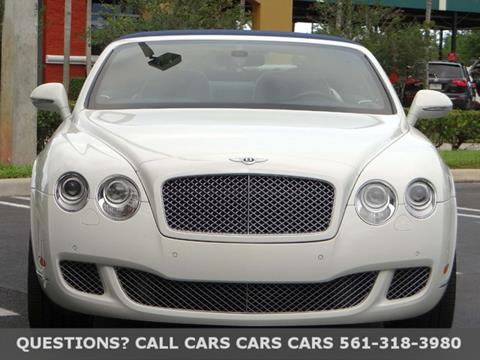 2010 Bentley Continental GTC for sale in Riviera Beach, FL
