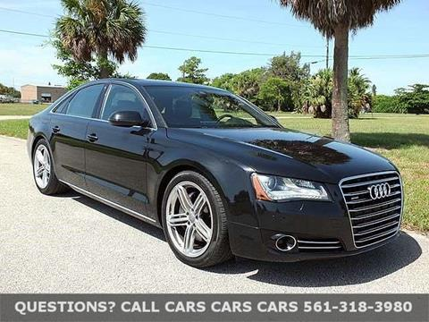 2013 Audi A8 for sale in Riviera Beach, FL