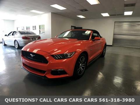 2016 Ford Mustang for sale in Riviera Beach FL