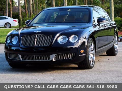 2008 Bentley Continental Flying Spur for sale in Riviera Beach FL