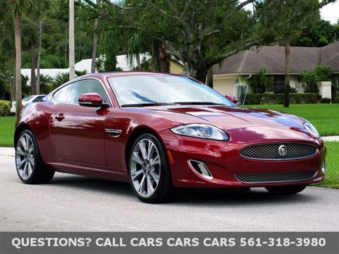 2013 Jaguar XK for sale in Riviera Beach, FL