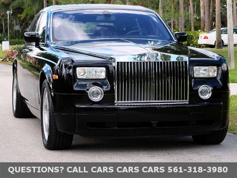 2006 Rolls-Royce Phantom for sale in Riviera Beach FL