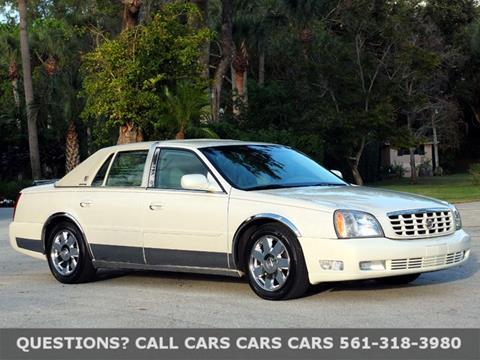 2003 Cadillac DeVille for sale in Riviera Beach FL