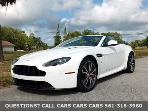 2013 Aston Martin V8 Vantage for sale in Riviera Beach FL