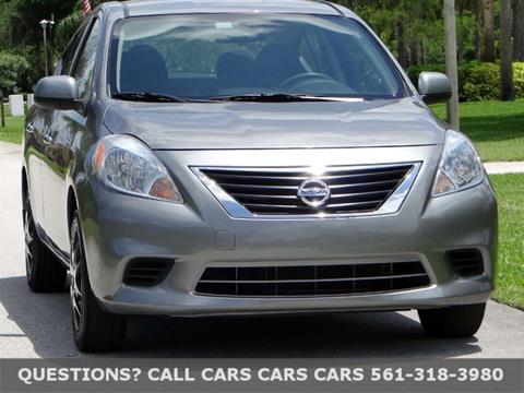 2014 Nissan Versa for sale in Riviera Beach, FL