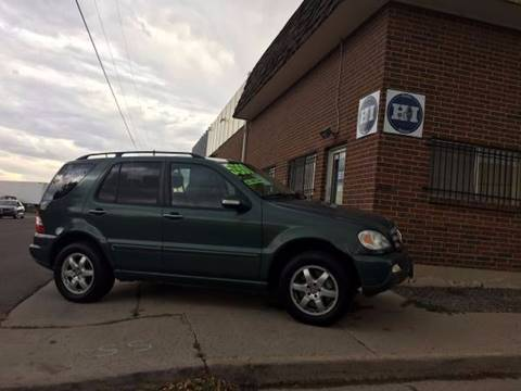 2003 Mercedes-Benz M-Class for sale in Englewood CO
