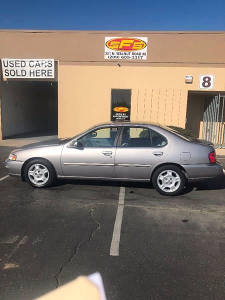 Delightful 2000 Nissan Altima For Sale At SFS Vehicle Remarketing In Turlock CA