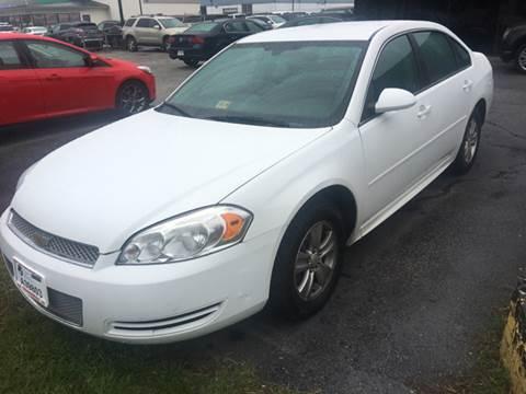 2012 Chevrolet Impala for sale in Norfolk, VA