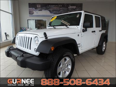 2016 Jeep Wrangler Unlimited for sale in Gurnee, IL