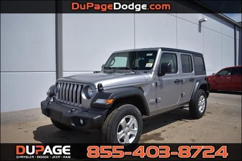 2018 Jeep Wrangler Unlimited for sale in Glendale Heights, IL