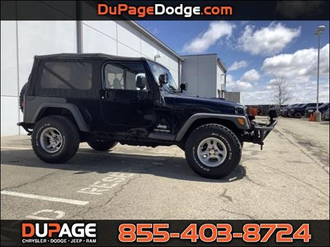 2005 Jeep Wrangler for sale in Glendale Heights, IL
