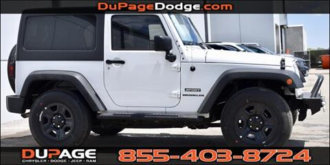 2013 Jeep Wrangler for sale in Glendale Heights, IL