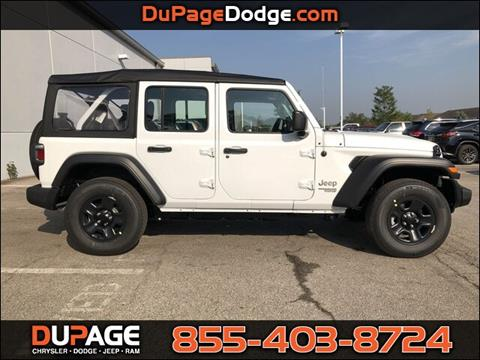 2020 Jeep Wrangler Unlimited for sale in Glendale Heights, IL