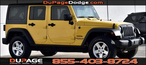 2015 Jeep Wrangler Unlimited for sale in Glendale Heights, IL
