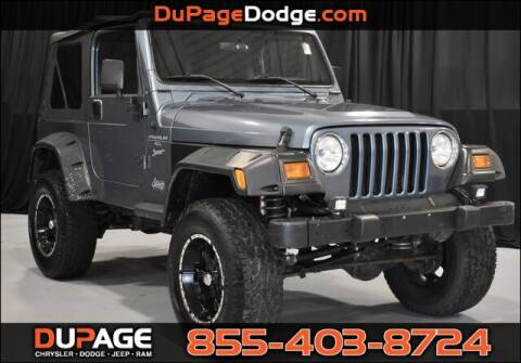 1999 Jeep Wrangler for sale in Glendale Heights, IL