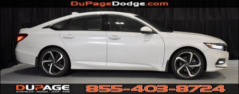 2019 Honda Accord Sport for sale at DuPage Dodge Chrysler Jeep in Glendale Heights IL