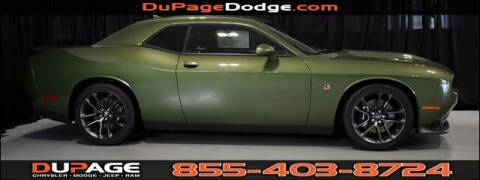 2020 Dodge Challenger R/T Scat Pack for sale at DuPage Dodge Chrysler Jeep in Glendale Heights IL
