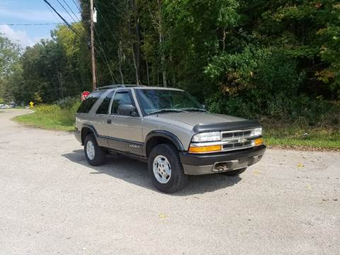 2000 Chevrolet Blazer for sale in Union Furnace, OH