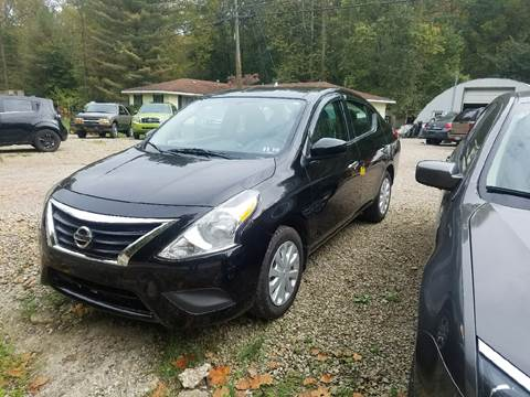 2015 Nissan Versa for sale in Union Furnace, OH