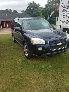 2007 Chevrolet Uplander for sale in Montague, MI