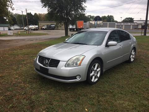 2005 Nissan Maxima for sale at Velp Avenue Motors LLC in Green Bay WI