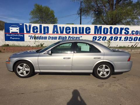 2000 Lincoln LS for sale at Velp Avenue Motors LLC in Green Bay WI