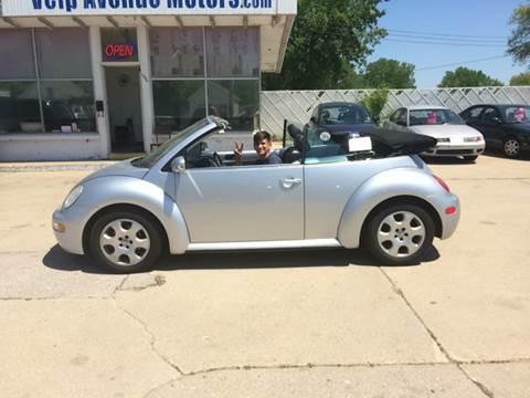 2003 Volkswagen New Beetle for sale at Velp Avenue Motors LLC in Green Bay WI