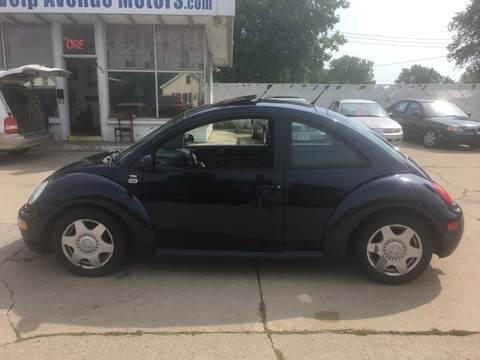 2001 Volkswagen New Beetle for sale at Velp Avenue Motors LLC in Green Bay WI
