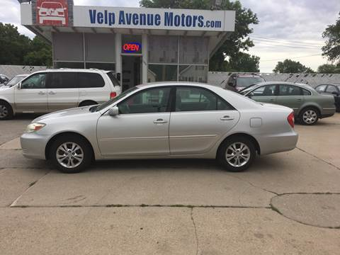 2004 Toyota Camry for sale at Velp Avenue Motors LLC in Green Bay WI