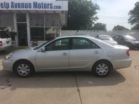 2002 Toyota Camry for sale at Velp Avenue Motors LLC in Green Bay WI