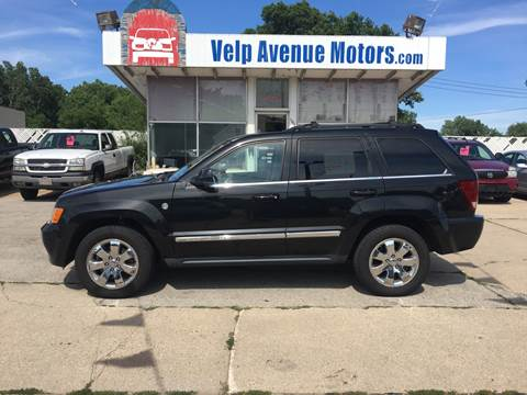2009 Jeep Grand Cherokee for sale at Velp Avenue Motors LLC in Green Bay WI