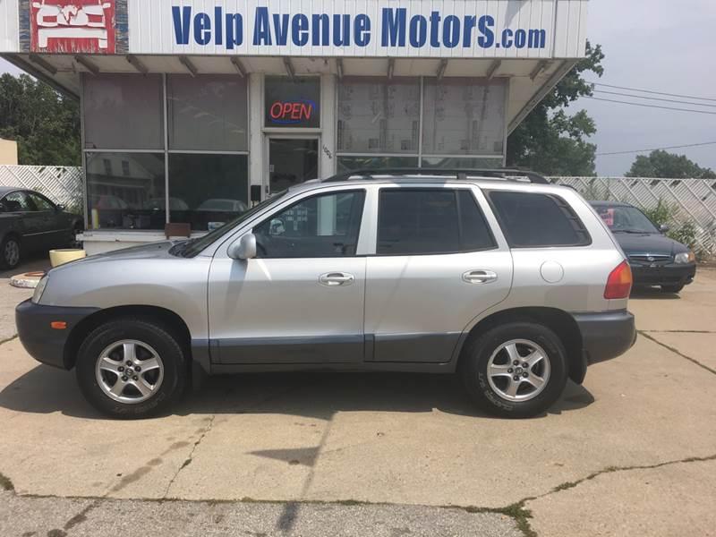 2003 Hyundai Santa Fe For Sale At Velp Avenue Motors LLC In Green Bay WI